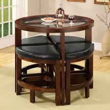 kitchen table small dinette sets small spaces industrial rustic