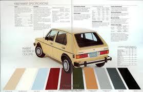 1982 paint colors