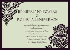Marriage Invitation Sample Cheap Simple Wedding Invitations Online