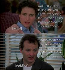 Bill Murray Groundhog Day Meme - bill murray explains the internet someecards web