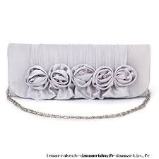 pochette femme mariage variété sac à avec chaîne pochette femme orné de fleur