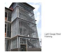 design of light gauge steel structures pdf tuesday sept 30 steel assemblies foundations columns