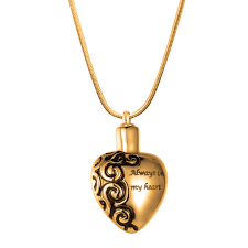 heart necklace wholesale images Wholesale always in my heart cremation jewelry memorial necklace jpg