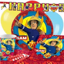 fireman sam party supplies woodies party