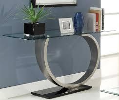 stylish modern sofa table decorate a modern sofa table behind a