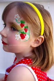 juliaarts party face paint for adults simple daisy face paint