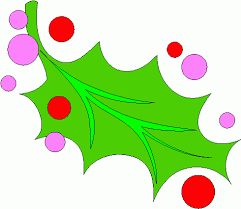 free holly clip art image christmas holly and berries image 12705