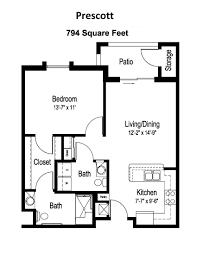 senior living floor plans u0026 prices surprise az