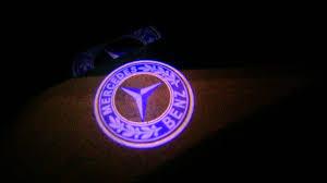 logo mercedes benz 3d mercedes benz welcome puddle logo light e class 2016 w212 youtube