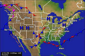 weather fronts map surface analysis weather maps siriusxm canada