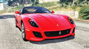 ferrari j50 rear ferrari 599 gto replace for gta 5