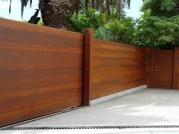 image of modern horizontal fence panels diy outside pinterest