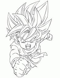 free dragon ball coloring pages 58345