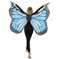 butterfly costume danzcue soft blue butterfly wings costume accessory