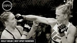 mcgregor lawler and holm in contention to win espy u0027s in 2016