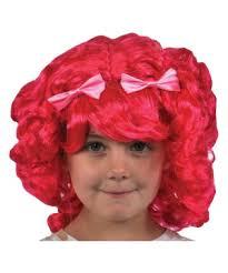Lalaloopsy Halloween Costumes Lalaloopsy Tippy Tumblelina Girls Wig Kids Costumes Kids