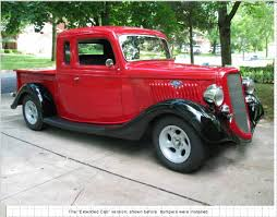 Old Ford Truck Drag Racing - 1935 ford extended cab pick up jpm entertainment