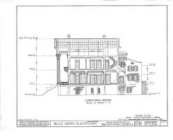 castle plans floor plans belle grove plantation mansion white castle louisiana