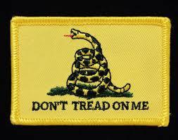 Don T Tread On Me Flag Origin Gadsden Flag Patch Confederate Shop