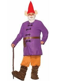 Lawn Gnome Halloween Costume Garden Gnome Men Deluxe Costume 60 99 Costume Land