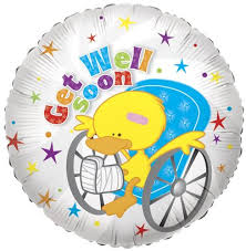 get well soon and balloons get well soon foil balloons buy foil balloons product on