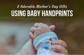 8 s day gifts to 8 adorable s day gifts using baby handprints babycare mag