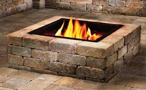 Outdoor Lp Fireplace - stone fire pit kit outdoor propane gas home fireplaces firepits