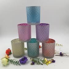 bougie marocaine photophore en gros grille mosaïque en verre photophore bougeoir chandelier id