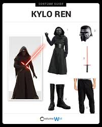 dress like kylo ren costume halloween and cosplay guides