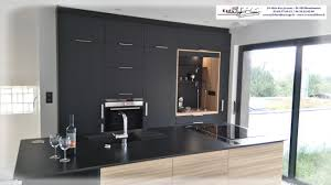 mur noir cuisine best cuisine noir mat et bois contemporary matkin info matkin info