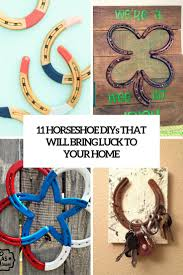 Horseshoe Home Decor 11 Horseshoe Diys That Will Bring Luck To Your Home Shelterness