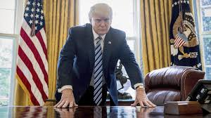 Oval Office Gold Curtains The Education Of Donald Trump Politico