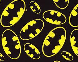 batman fabric etsy