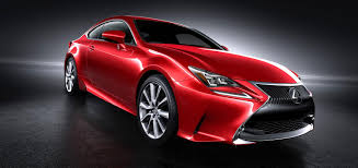 lexus sports car 2 door lexus rc coupe getting new red paint color autoevolution