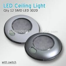 ceiling light with switch rv 3 round led interior ceiling light cabin light with switch low