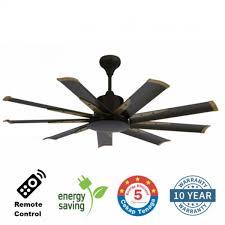 60 ceiling fan with remote elmark 9he60 60 inch 9 blade remote ceiling fan dc motor rusty