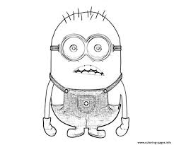 minion despicable coloring pages coloring pages printable