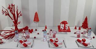 decoration de noel de table a faire soi meme maison design