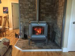 tiling a woodstove hearth with small tiles u0026 heavy stove hearth