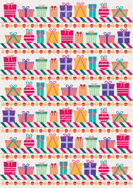 gift wrapping paper design royalty free cliparts vectors and