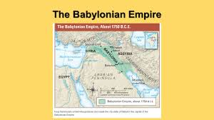 Babylonian Empire Map Chapter 6 Exploring Four Empires Of Mesopotamia Ppt Video Online