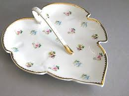 i godinger co rosebud i godinger co rosebud pattern candy dish tray roses gold trim 8