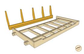 build a porch bed swing plans and video how to wood it u0027s real