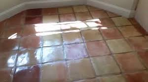 floor saltillo tile wax