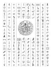 hittite hieroglyphs by louboumian on deviantart