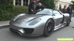 spyder porsche price porsche 918 spyder on the road youtube