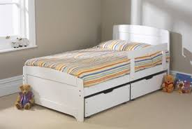 White Wood Single Bed Frame Friendship Mill Rainbow White Bed 3ft Single Wooden Bed Frame By