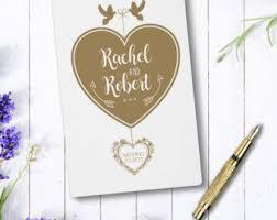 wedding journal wedding journal etsy