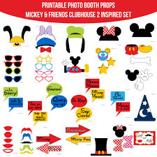 instant download mickey mouse u0026 friends clubhouse inspired