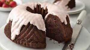 one bowl strawberry covered chocolate bundt cake recipe